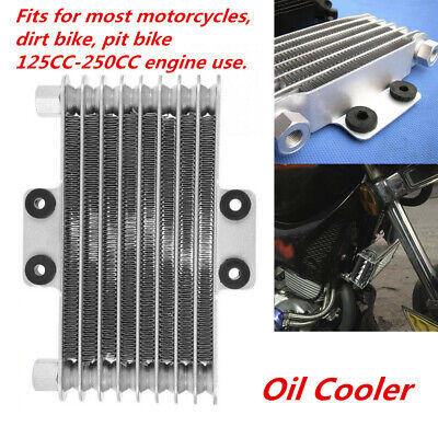 Motorcycle Engine Oil Cooler Cooling Radiator Fit for 125CC-250CC Dirt Bike ATV