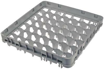 Cambro Total Height Korbaufsatz for Glass Rack 49 Compartments Width 500mm