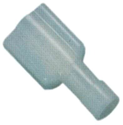 Flat Blade Fully Insulated Blue Größe 6, 3x0, 8mm Insulated Cable Nylon