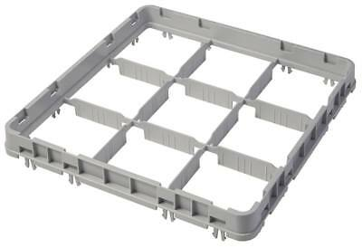 Cambro half Height Korbaufsatz for Glass Rack 9 Compartments Width 500mm