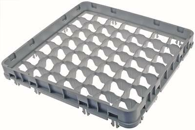 Cambro half Height Korbaufsatz for Glass Rack 49 Compartments Width 500mm