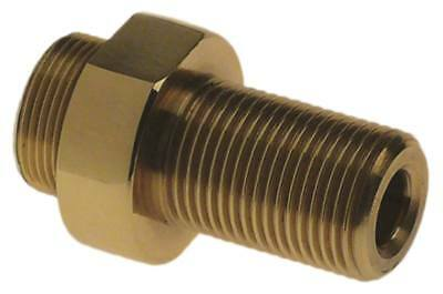 """Screw Connection for Steam Faucet Ø 26mm M18x1 G2 3/8 """" inside 8,5mm Sw 24"""