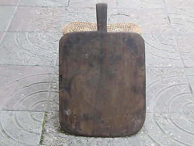 Old Antique Primitive Ottoman Empire Wooden  CUTTING BOARD from Bolkans