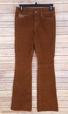 fantastic savings wide selection of colours and designs ever popular JOES JEANS WOMENS Flare Corduroy Pants Brown Mid Rise Festival Boho Hippie  Sz 24