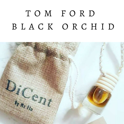 BLACK ORCHID Luxury Designer Inspired Hanging Car Perfume Oil Diffuser #712