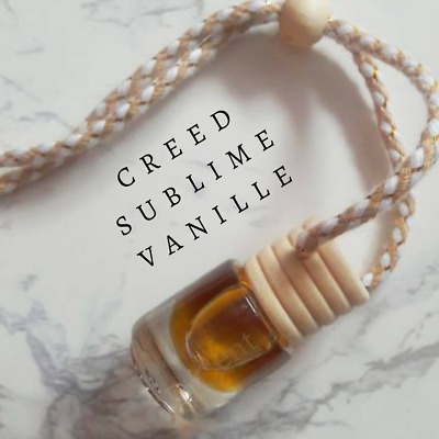 SUBLIME VANILLE Luxury Designer Inspired Hanging Car Perfume Oil Diffuser #657