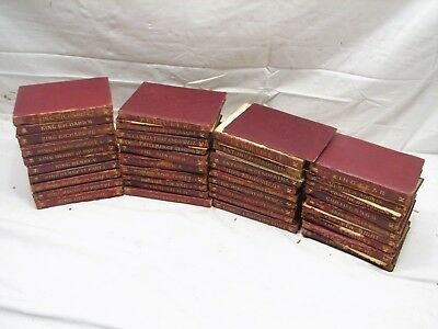 Lot 38 Leather Books Works of William Temple Shakespeare Plays Dent 1897 3rd ed