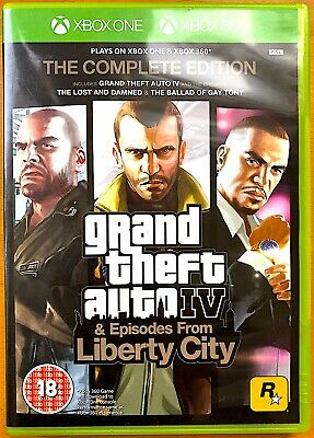 Grand Theft Auto IV - The Complete Edition - Microsoft Xbox One Games