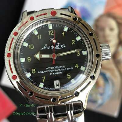 Vostok Amphibian Watch 420270 Russian Diver Automatic