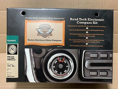 Harley Davidson Road Tech Electronic Compass Kit 74441-02A