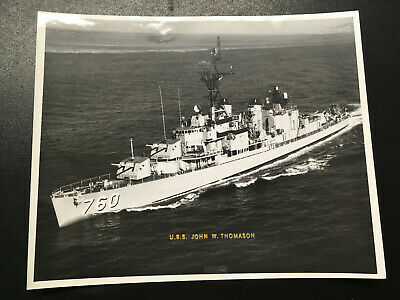 USS JOHN W  THOMASON DD-760 Naval Cover 1951 FIRST DAY
