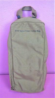 NEW Heavy Canvas Beige BTM Hemorrhage Control EMT EMS Medical Supply Carry Bag