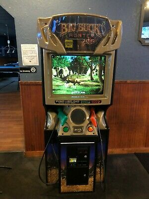 BIG BUCK HUNTER PRO Full Size Arcade Game with 2 additional brand new guns