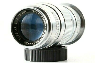 Canon Serenar 100mm F/4 Lens Leica Screw Mount LTM LTM39 from Japan 48488 Exc