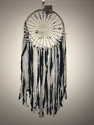 New Large Dream Catcher Tye Dye Blue White Wall Home Office Hanging Nursery Gorg