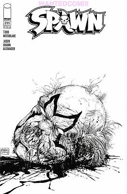 SPAWN #295 COVER C SKETCH VARIANT COVER MATTINA McFARLANE MARCH 2019 COMIC BOOK