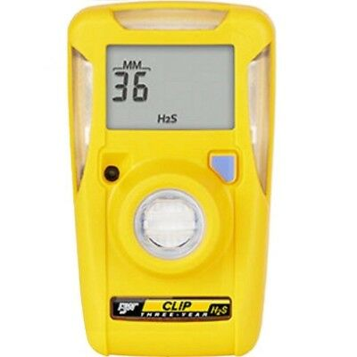 BW Clip BWC3-H Personal H2S/Hydrogen Sulphide Gas Detector - 3 Year Gas Monitor
