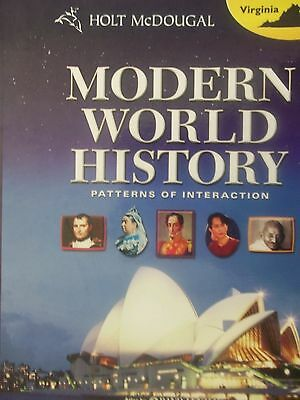 MODERN WORLD HISTORY Grades 9 12 Patterns Of Interaction By
