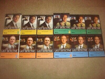 The Last Detective Series 1 2 3 4 DVD LOT Set Acorn Media British Mystery TV