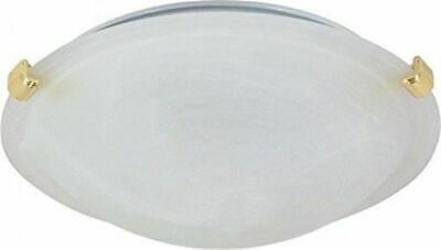 Nuvo 60-274 - Small Tri-Clip Dome Flush Mount Ceiling Light