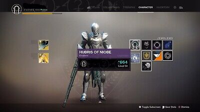 Destiny 2 Niobe Torment Recovery (XB1 Only) Exclusive Emblem + Ghost Shell