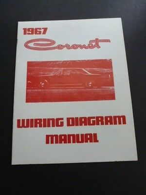 1967 dodge coronet wiring diagram manual - last one