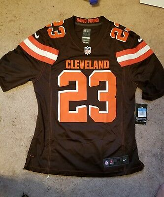 Hot NIKE NFL JOE Haden Jersey Cleveland Browns Size Small S 679279 246  for sale