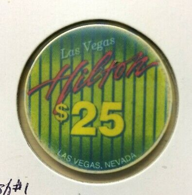 Las Vegas Hilton $25 Casino Chip from 1994