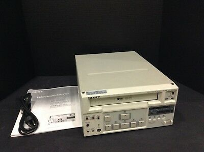 Sony Svo-9500Md Medical Grade Video Recorder Vcr Refurbished Manual And Warranty