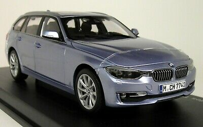 Paragon 1/18 Scale - BMW 3 Series Touring F31 Liquid Blue Diecast Model Car