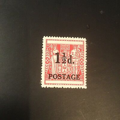New Zealand 1,1/2d red Stamp Duty