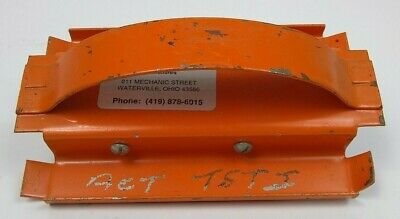 "AmCraft 1400 Orange 1"" Kerfing Tools Used Left, Right Shiplap Duct Tool"