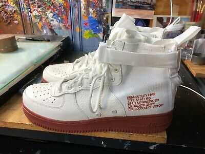 quality design 54f82 08f66 Nike SF AF1 Mid Ivory Mars Stone Size US 12 Men s 917753 100 New Air