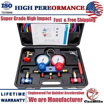 R134A R410a Air Conditioning HVAC A/C Refrigeration Charging Manifold Gauge Sets