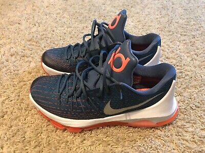 545b3a08d1e Mens Nike KD 8 Size 10 Basketball Shoes Kevin Durant Excellent Condition  Low Cut
