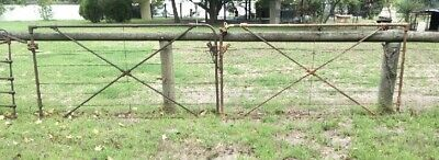 Antique Farm Or Driveway Gate---Full Width---Mckay Sunshine