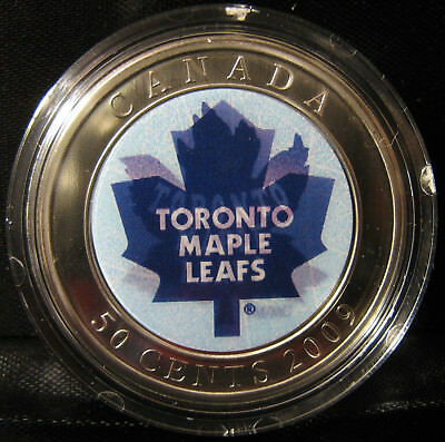 2009 - 50-cents - NHL - Toronto Maple Leafs - Lenticular - SP ( No Puck )