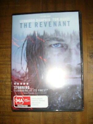 THE REVENANT (LEONARDO DiCAPRIO & TOM HARDY  DVD - REGION 4