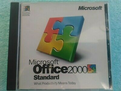 MICROSOFT OFFICE 2000 Standard Full Versions W Product Key
