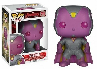 Funko Pop Marvel Series Avengers Age of Ultron Vision #71 Vinyl Figure Toy Doll