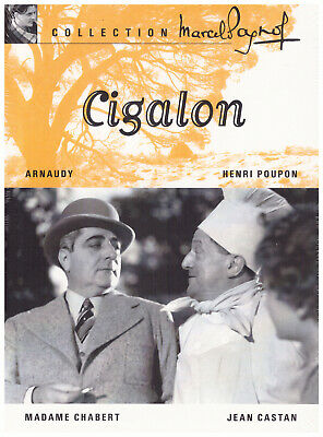 DVD CIGALON - Classic Marcel Pagnol Henri Poupon - Neuf / New English subtitles