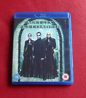 The Matrix Reloaded - UK Blu-ray - Keanu Reeves, Laurence Fishurne - Wachowskis