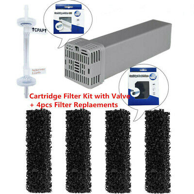 Cartridge Filter Kit with Check Valve + 4pcs Replacement for SoClean2 SC1200