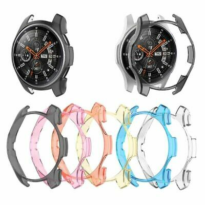 Transparent Protector Shell Protective Case Frame Cover For Samsung Galaxy Watch
