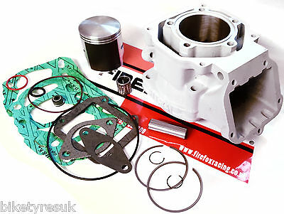 Aprilia RS125 RS 125 Rotax 122 New Mitaka Barrel / Cylinder Kit - WOSSNER PISTON