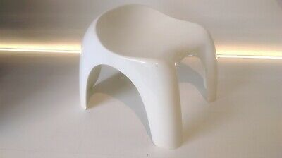 ARTEMIDE design efebino stool by stacy dukes sgabello vintage anni 70