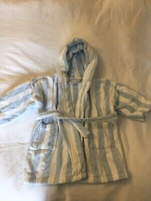 The Little White Company Towelling Robe 12-18 Months