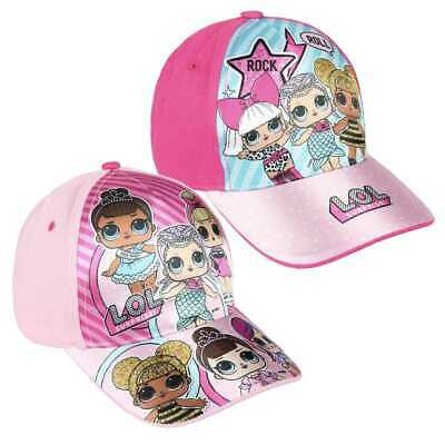 LOL Surprise Baseball Cap Girls Official Licensed Summer Adjustable Kids Sun Hat