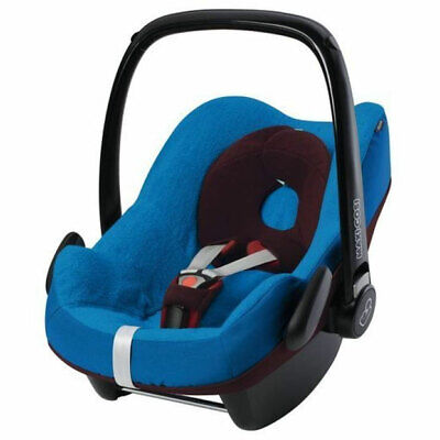 Brand New Maxi Cosi Pebble Car Seat Group 0+ Summer Cover in Blue RRP£35.00