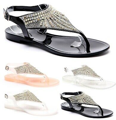 Womens Casual Comfort Summers Sandals Ladies Beach Holiday Flip Flops Shoes Size